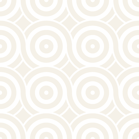 trellis: Vector seamless geometric pattern composed with circles and lines. Modern stylish rounded stripes texture. Repeating abstract decorative background