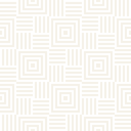 trellis: Stylish Lines Maze Lattice. Ethnic Monochrome Texture. Abstract Geometric Background Design. Vector Seamless Subtle Pattern.