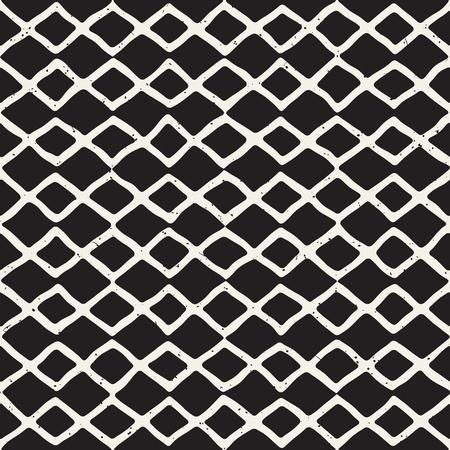 tile pattern: Ink doodle grunge illustration.