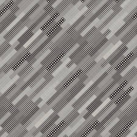 textile image: Modern Stylish Halftone Texture. Endless Abstract Background With Random Size Squares. Vector Seamless Pattern.