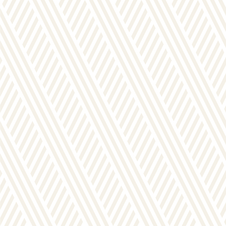 Interlacing Parallel Stripes. Vector Seamless Subtle Monochrome Pattern. Abstract Geometric Background. Illustration