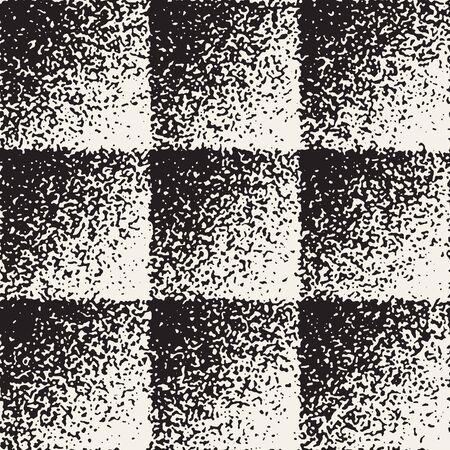 Abstract vintage grungy seamless pattern. Illustration