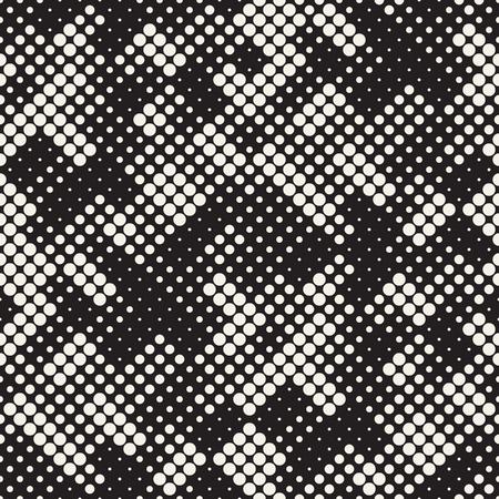 Modern Stylish Halftone Texture endless abstract pattern.