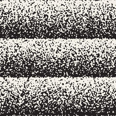 Abstract noisy textured geometric shapes illustration.