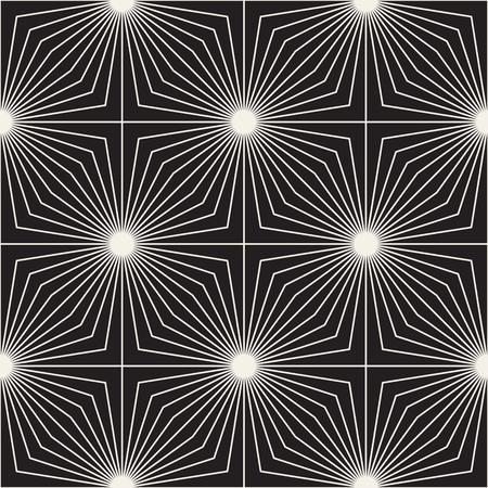 Reticolo di reticolo senza giunte di vettore. Texture moderna ed elegante con traliccio monocromatico. Ripetendo la griglia geometrica. Semplice sfondo grafico.