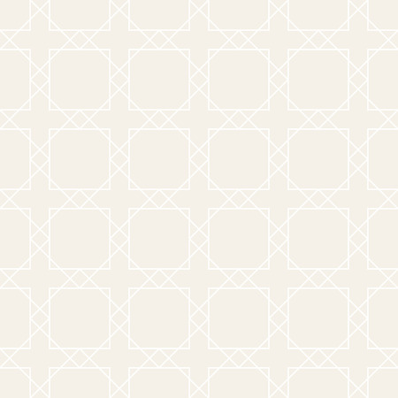Vector subtle seamless pattern. Modern stylish texture. Repeating geometric background. Striped lattice grid. Linear graphic design.  イラスト・ベクター素材