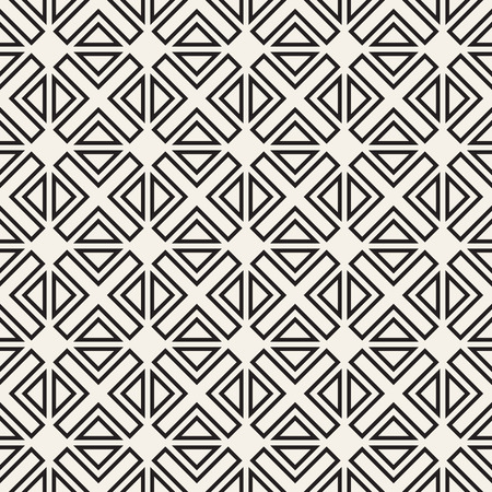 Vector seamless pattern. Modern stylish texture. Repeating geometric background. Striped lattice grid. Linear graphic design.
