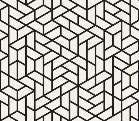 ベクトルシームレスパターン。モダンなスタイリッシュな質感。ストライプ三角形要素からジオメトリ タイルを繰り返す
