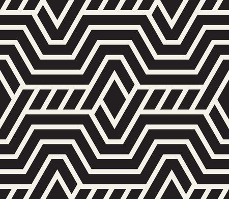 White and black geometric pattern.
