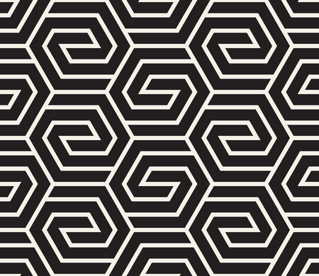 Modern stylish abstract texture. Repeating geometric tiles from striped elements