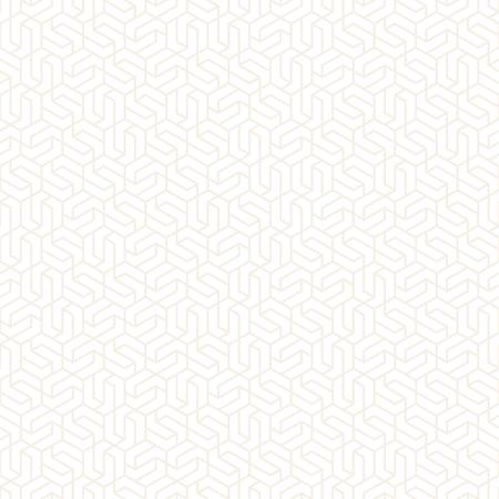 Vector seamless subtle pattern. Modern stylish texture with monochrome trellis. Repeating geometric hexagonal grid. Simple lattice graphic design.