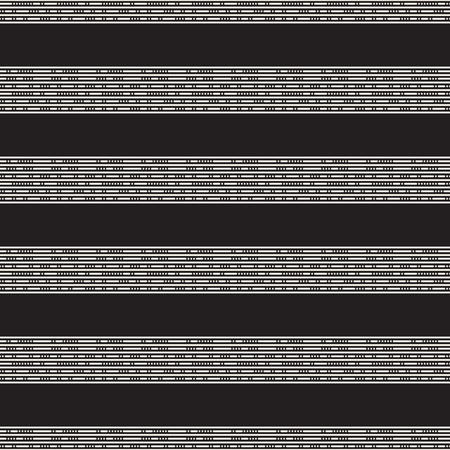 A Vector seamless stripes pattern. Modern stylish texture with monochrome trellis. Repeating geometric grid. Simple lattice graphic design.