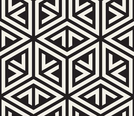 Repeating geometric tiles pattern