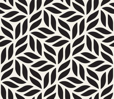 Vector naadloos patroon. Moderne stijlvolle abstracte textuur. Herhaling geometrische tegels van gestreepte elementen