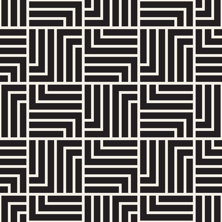 Vector seamless lattice pattern. Modern stylish texture with monochrome trellis. Repeating geometric grid. Simple graphic design background.