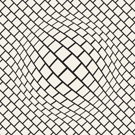 Halftone bloat effect optical illusion abstract geometric background design.