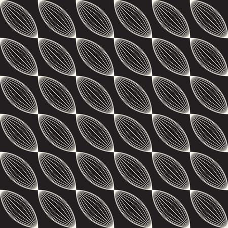 Vector seamless lattice pattern