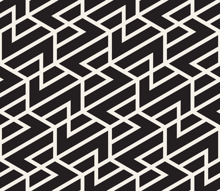 Vector seamless pattern. Modern stylish abstract texture. Repeating geometric tiles.