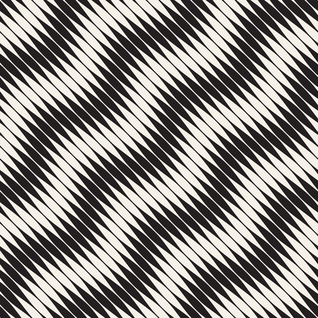 Seamless ripple pattern. Repeating vector texture. Wavy graphic background. Simple wave stripes 写真素材 - 96296445
