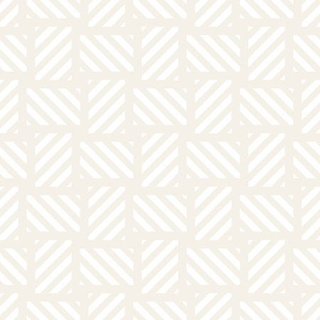 Trendy monochrome twill weave Lattice. Abstract Geometric Background Design Vector Seamless Subtle Pattern.