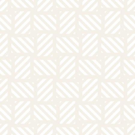 Trendy monochrome twill weave Lattice. Abstract Geometric Background Design Vector Seamless Subtle Pattern.