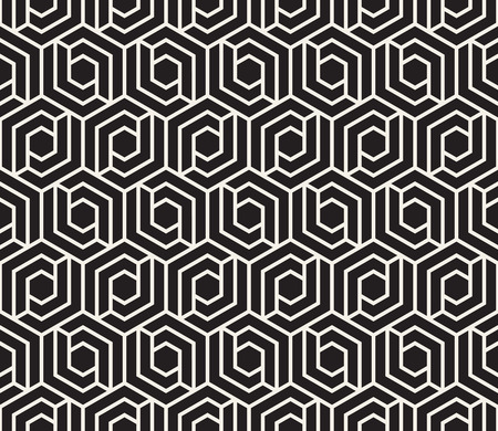 Modern stylish abstract texture with geometric tiles.