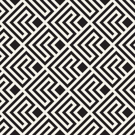 Modern stylish texture with monochrome trellis.