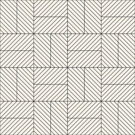 Repeating geometric tiles from striped elements
