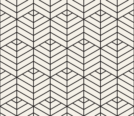 Vector seamless pattern. Modern stylish abstract texture. Repeating geometric tiles 일러스트