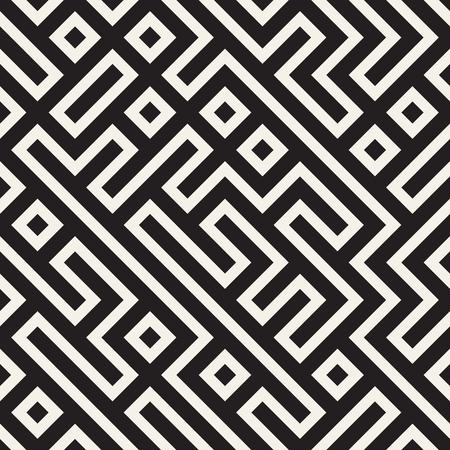 Stylish lattice lines pattern