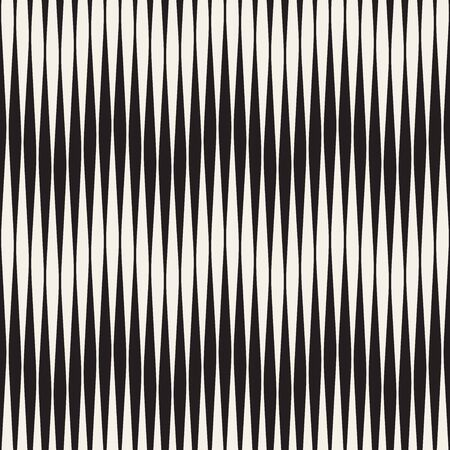 Seamless ripple pattern. Repeating vector texture. Wavy graphic background. Simple wave stripes  イラスト・ベクター素材