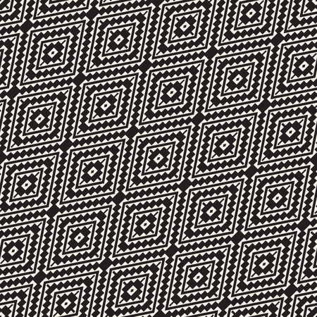 Seamless surface geometric design. Repeating tiles ornament background. Vector symmetric shapes pattern Ilustrace