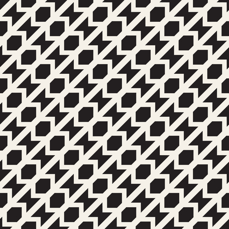 Seamless surface geometric design. Repeating tiles ornament background. Vector symmetric shapes pattern Ilustração