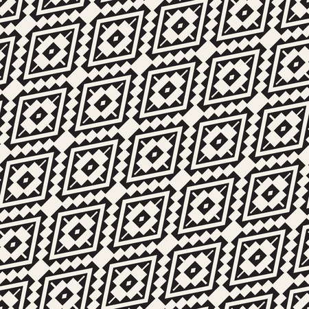 Seamless surface geometric design. Repeating tiles ornament background. Vector symmetric shapes pattern 矢量图像