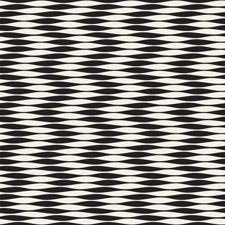Seamless ripple pattern. Repeating vector texture. Wavy graphic background. Simple wave stripes Illustration
