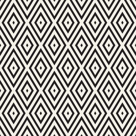 Vektor nahtloses Muster. Moderne stilvolle abstrakte Textur. Wiederholen von geometrischen Kacheln aus gestreiften Elementen