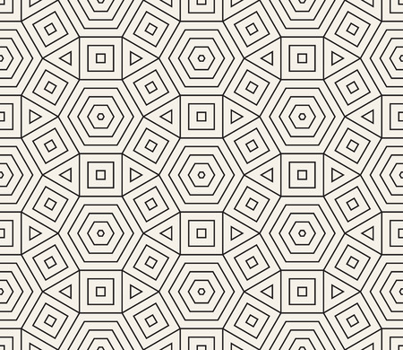 Vector seamless pattern. Modern stylish abstract texture. Repeating geometric tiles 写真素材
