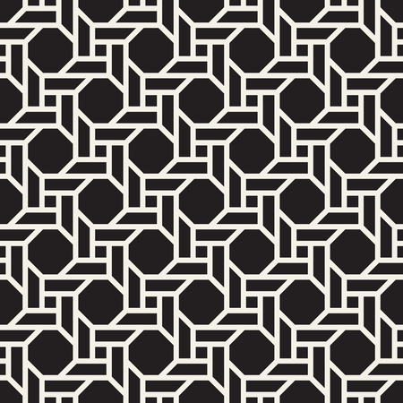 Vector seamless pattern. Modern stylish abstract texture. Repeating geometric tiles  イラスト・ベクター素材
