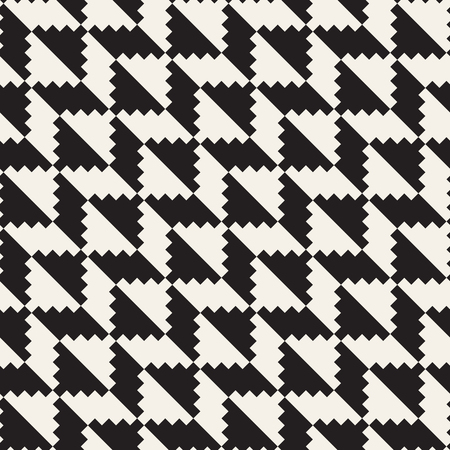 Vector seamless geometric pattern. Simple abstract lines lattice. Repeating ethnic stylish background tiling
