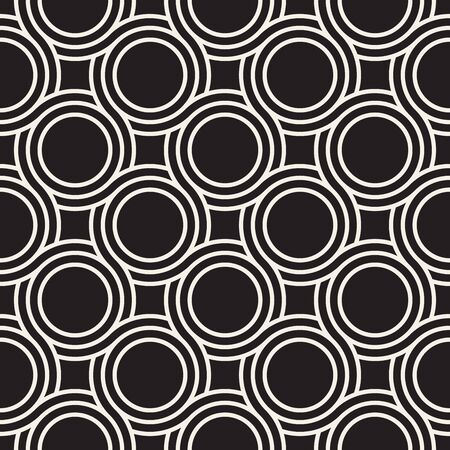 Vector seamless pattern. Modern stylish abstract texture. Repeating geometric tiles from striped elements 向量圖像