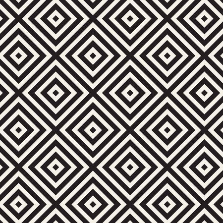 Vector seamless lines mosaic pattern. Modern stylish abstract texture. Repeating geometric tiles with stripe elements
