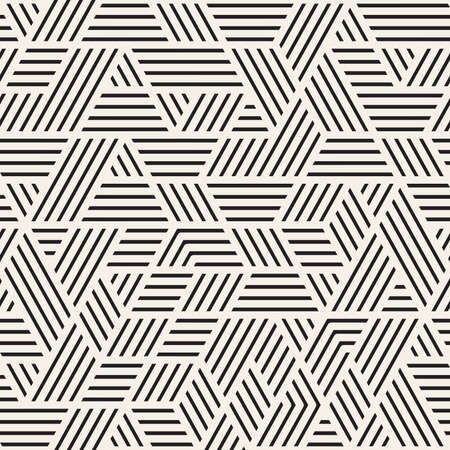 Vector seamless pattern. Modern stylish abstract texture. Repeating chaotic geometric tiles