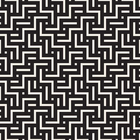 Vector seamless pattern. Modern stylish abstract texture. Repeating geometric tiles 向量圖像