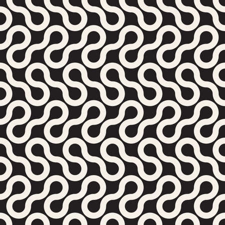 Vector seamless pattern. Modern stylish abstract texture. Repeating geometric tiles Stock Illustratie