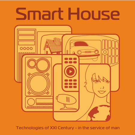 controlled: smart home controlled by one remote control