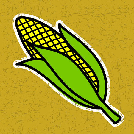 corncob: corncob Illustration