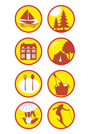 excursions: Tourism icons