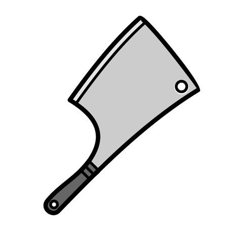meat chopper: Axe for meat