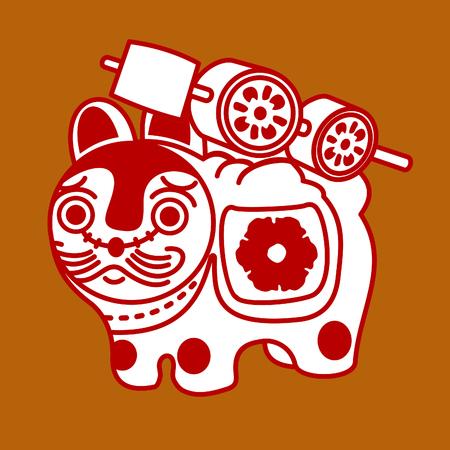 Japanese dog toy