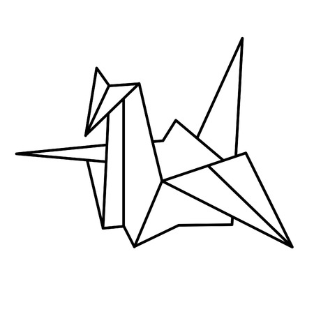 Japan paper Crane